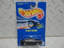 Hot Wheels #209 Black Lexus SC400 w/Ultra Hot Wheels