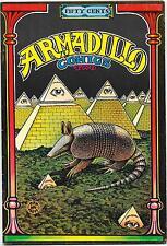 Armadillo Comics #2, 1st printing Rip Off Press 1971, Jim Franklin FN