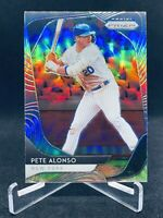 2020 Panini Prizm PETE ALONSO Silver Prizm Holo SP No. #66 New York Mets