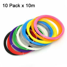 10 Colours 3D Pen Filament Refills 1.75mm ABS Printing Ink Drawing