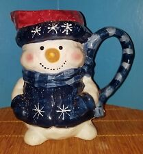 Snowman Pitcher Christmas Collectible Holiday Table Decoration Table Cute