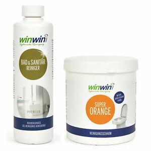 winwinCLEAN SET 2-TEILLIG ODER proWIN Bad und Sanitärreiniger (€ 27,80/L)