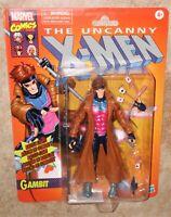 Marvel legends series 6 inch uncanny x-men retro gambit Hasbro