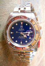 33mm Tudor by ROLEX, SS mini- Sub Sub, SS, Blu Dial,  9+ of 10,NICER THAN PIX