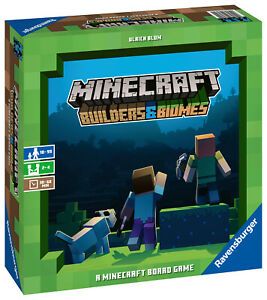 26132 Ravensburger Minecraft Builders & Biomes Games Age 10 Years+