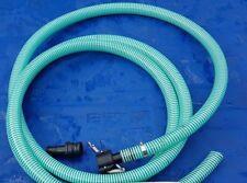 JETTER FANGO Sucker lo sporco dell'acqua tubo stagno di Koi Carpa Estensione Tubo Piscina 5 M