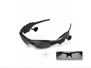 Wireless Headphones Bluetooth4.1 Stereo Sunglasses Sports Riding Glasses Headset