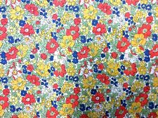 SK47 LIBERTY OF LONDON Floral Retro AMAZING BEAUTIFUL Cotton Quilt Fabric