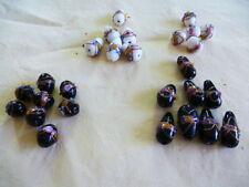 Glass Teardrop Loose Beads