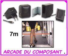 1 BARRIERE IR DETECTION DE PASSAGE maxi 7m - PORTE - MAGASIN (ref 71008-1)