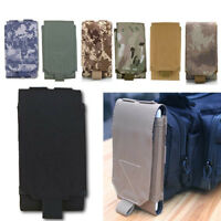 Tactical Army MOLLE Bag Hook Loop Belt Pouch Holster Case For iPhone Cell Phone