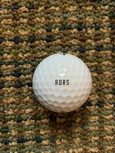 "Rory McIlroy Golf Ball ""RORS"" Taylormade 22 TP5x Super Rare Tour Only"