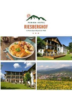 Kurzurlaub Bayerischer Wald 8 Tage mit Halbpension 3★ Hotel Riesberghof