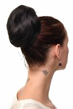 Hairpiece Bun Topknot 60er Jahre Vintage Took Black Very Large nha-004c-2