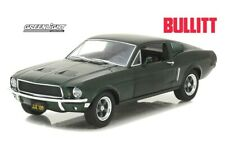 "1968 FORD MUSTANG GT FASTBACK ""BULLITT"" GREEN 1/24 DIECAST BY GREENLIGHT 84041"
