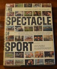 THE SPECTACLE OF SPORT SELECTED FROM SPORTS ILLUSTRATED 202 PAGES OF PHOTOS HC