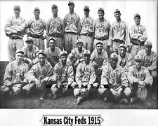1915 Federal League Baseball Kansas City Packers Team Photo 8 X 10 Photo Picture