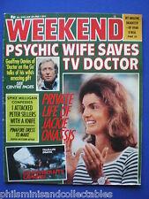 Weekend Magazine - Geoffrey Davies, Jackie Onassis    26th Jan 1977