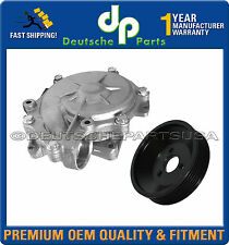 Water Pump + PULLEY + GASKET 05 06 07 08 09 10 11 for BMW E90 E91 316i 318i 320i