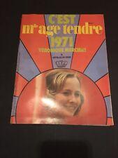 Magazine Mensuel Mlle Age Tendre - 1971 - Mercier Véronique- M13