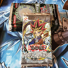 YuGiOh! Metal Raiders Booster Pack! New and Sealed! NOT REPRINT!!