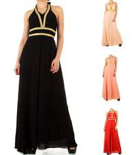 Ärmellose Damenkleider im Abendkleid-Strass