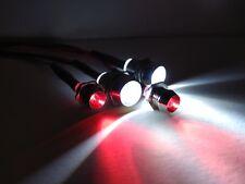 RC CAR LED LIGHTS For Tamiya Hpi Losi Thunder Tiger Redcat Kyosho Axial Rc4wd