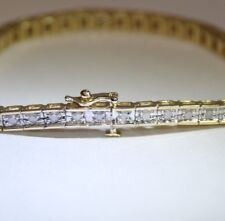 0.75 ctw Diamond Tennis Style Bracelet on 10K Yellow Gold