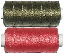 STRONG BONDED NYLON THREAD IPCABOND, 20'S 100MTR SPOOL, VARIOUS COLOURS