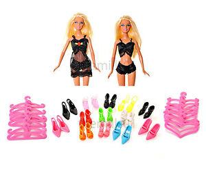 8 Pieces Barbie Doll Underwear Nightwear Lingerie Clothes Bundle Lot 3P