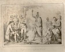 Regnault's Etats-Unis Eng. -1837- CONFERENCE AT FIRE