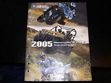 Yamaha 2005 Motorcycle/Atv/Sxs Technical Update Manual