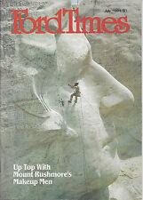 Ford Times July 1984 Sir Walter NC  Gymnastics Nadia Comaneci Chef Jan Emous
