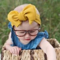 Over Sized Turban Big Bow Top Knot Hair Band Baby Headband Headwear Headwrap