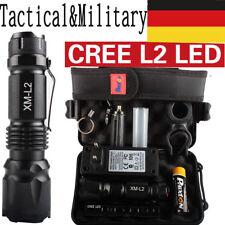 80000lm echte Polizei Taschenlampe CREE XML L2 LED Militär&Taktisch Fackel DE