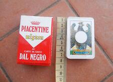 PIACENTINE mignon 40 carte da gioco Dal Negro scopa briscola collezionismo cards