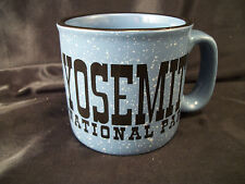 Mug cup Yosemite National Park souvenir blue/black hiking camping travel coffee