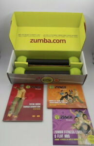 Zumba Fitness DVD Set /Join The Party  With  Toning Sticks and DVD's