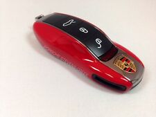 Porsche Painted Key Cap Set GUARDS RED 911 Boxster Cayman Panamera Cayenne