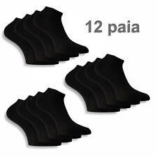 12 paia calze uomo donna col vari sport calzini fantasmini corti cotone elastico