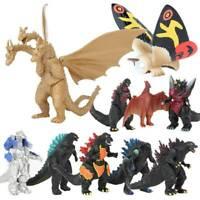 Godzilla 2 King of the Monster Shin Kaiju Gigan Ghidorah 10 pcs Figures Set Gift