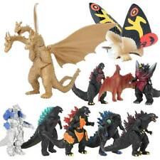 10 pcs Godzilla 2 King of the Monster Shin Kaiju Gigan Ghidorah Figures Toys Set