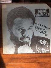 Mack Simmons Rare Harmonica Blues/Funk LP '70s Chicago PM Record Label Rare