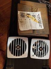 Vintage Nutone 8141 Room to Room White Enamel Eall Fan In Box