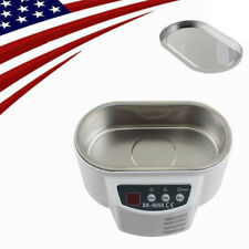 Home Stainless Steel Ultrasonic Cleaner F Jewelry Glasses Circuit Board Watch CD