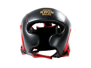 Kwon Kopfschutz Sparring, aus Leder. M-XL. Perfekt Passform, Kickboxen, Boxen