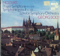 Mozart, Solti, Prager Symphonie KV 504 , Symphonie g-moll KV 183