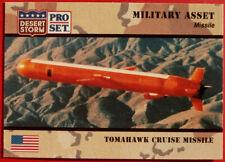 DESERT STORM - Card #215 - Military Asset: TOMAHAWK CRUISE MISSILE - Pro-Set