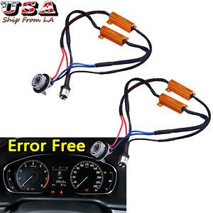 1157 2357A Load Resistor Fix Hyper Flash For Switchback LED Turn Signal Light