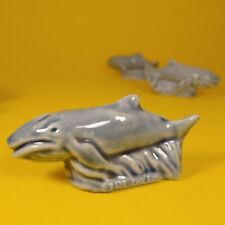 Wade Whimsies (1984/85) Tom Smith - Set #6 Survival Series - Blue Whale